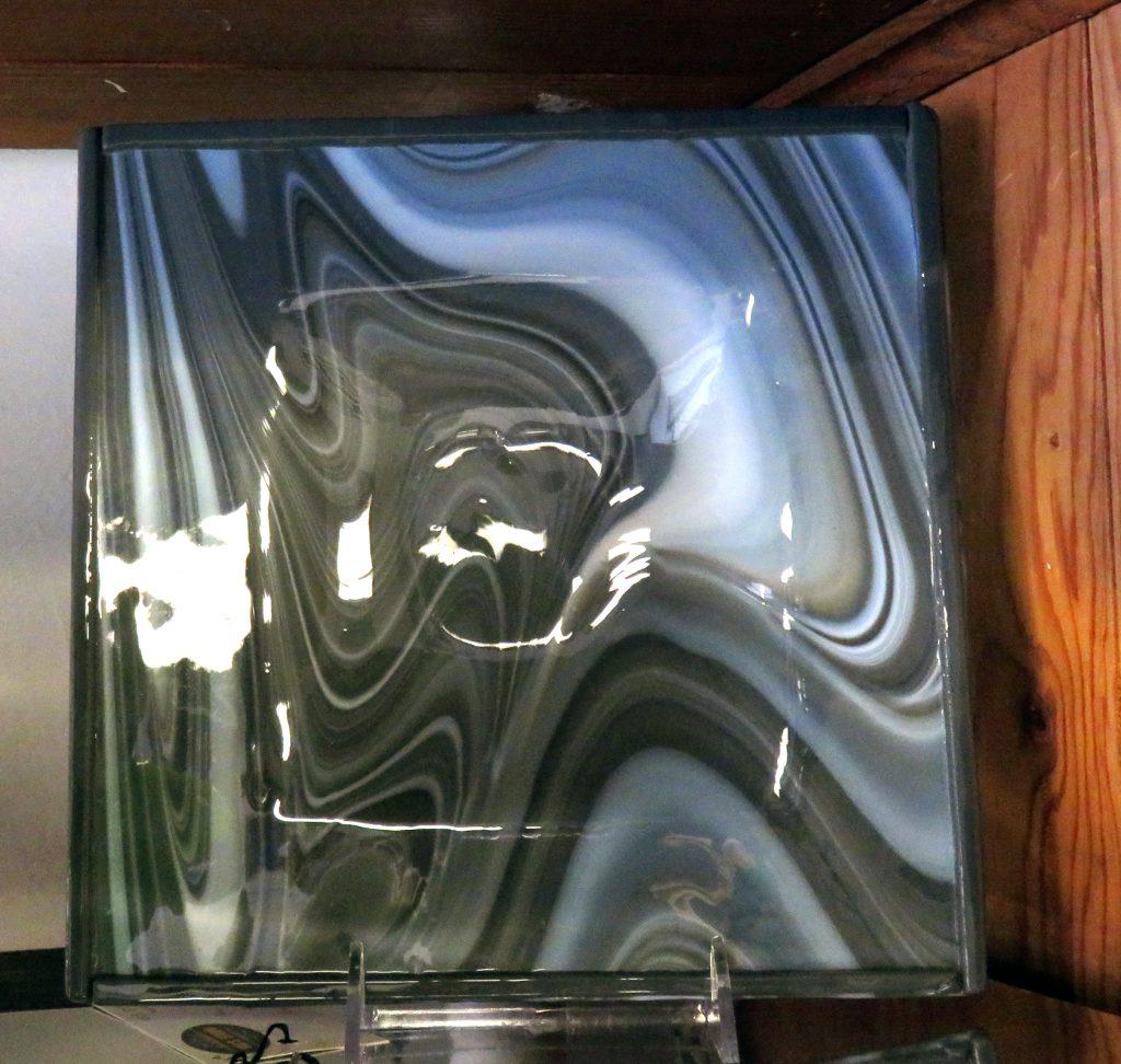 Butcher Valerie Gray Plate Glass