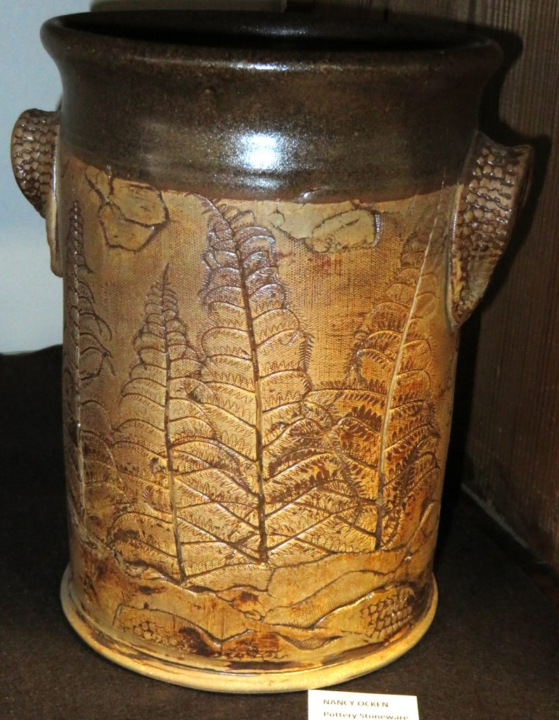 Ocken Nancy Pottery Stoneware large jar