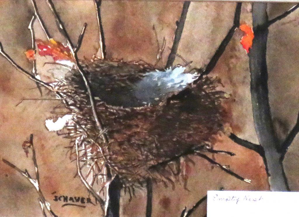 Schaver Vernon Empty Next Watercolor