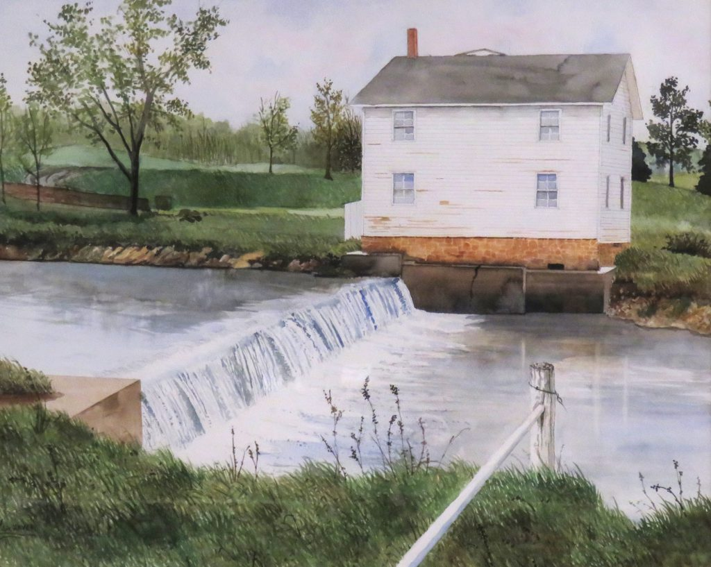 Schaver Vernon Mill Malvern Watercolor