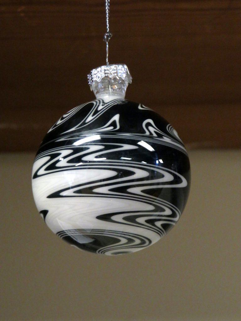 VanZuiden Art Black Soul Glass Ornament