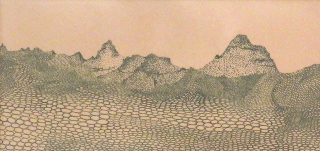 Yost Charles Moonscape Watercolor